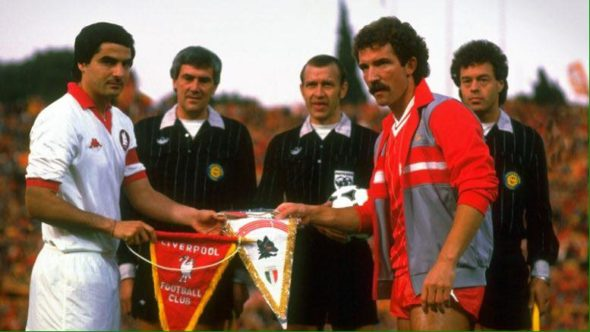 Roma-Liverpool. 1984
